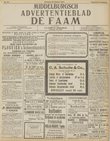de Faam en de Faam/de Vlissinger 1915-01-27