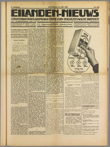 Eilanden-nieuws. Christelijk streekblad op gereformeerde grondslag 1935-05-25
