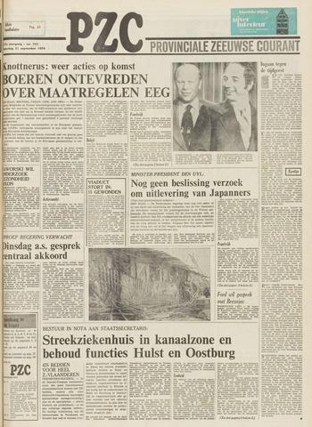 Provinciale Zeeuwse Courant 1974-09-21
