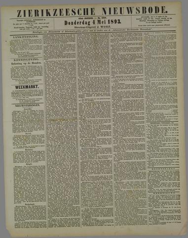 Zierikzeesche Nieuwsbode 1893-05-04