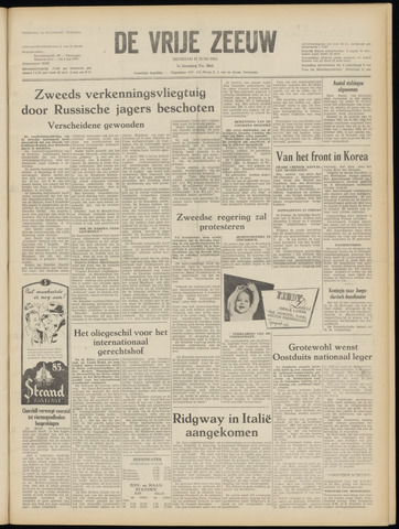 de Vrije Zeeuw 1952-06-17