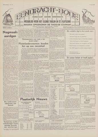 Eendrachtbode (1945-heden)/Mededeelingenblad voor het eiland Tholen (1944/45) 1969-04-10