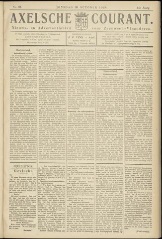 Axelsche Courant 1928-10-30