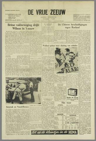 de Vrije Zeeuw 1963-09-07