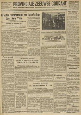 Provinciale Zeeuwse Courant 1951-04-21