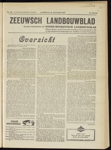 Zeeuwsch landbouwblad ... ZLM land- en tuinbouwblad 1955-08-20