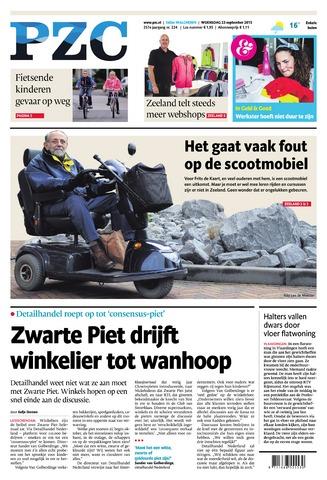 Provinciale Zeeuwse Courant 2015-09-23