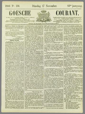 Goessche Courant 1896-11-17