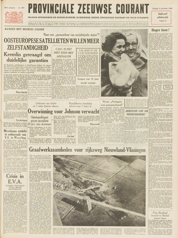 Provinciale Zeeuwse Courant 1964-11-03