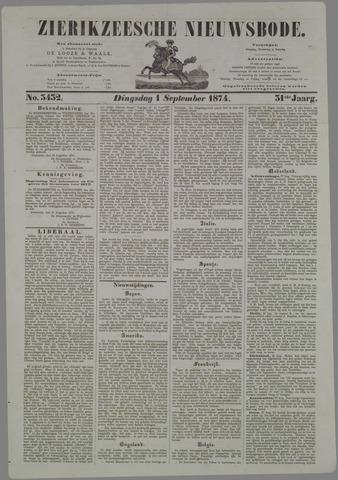 Zierikzeesche Nieuwsbode 1874-09-01
