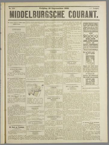 Middelburgsche Courant 1925-09-18