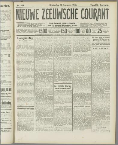 Nieuwe Zeeuwsche Courant 1916-08-31