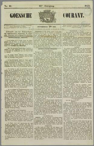 Goessche Courant 1857-05-28