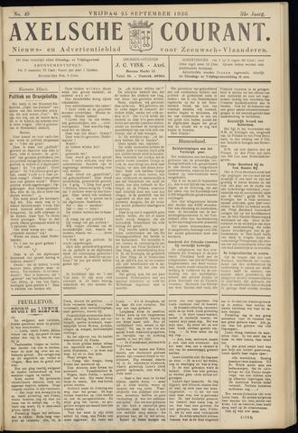 Axelsche Courant 1936-09-25