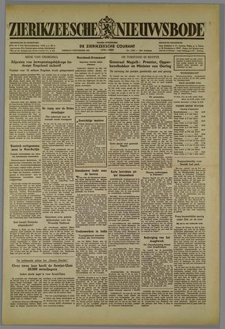 Zierikzeesche Nieuwsbode 1952-09-09
