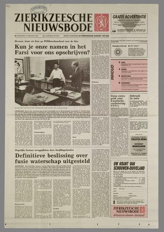 Zierikzeesche Nieuwsbode 1994-02-10