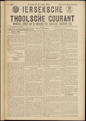 Ierseksche en Thoolsche Courant 1916-11-25