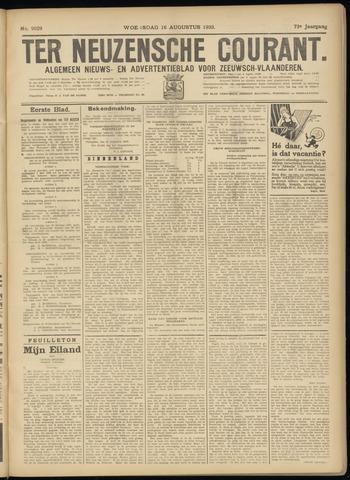 Ter Neuzensche Courant. Algemeen Nieuws- en Advertentieblad voor Zeeuwsch-Vlaanderen / Neuzensche Courant ... (idem) / (Algemeen) nieuws en advertentieblad voor Zeeuwsch-Vlaanderen 1933-08-16