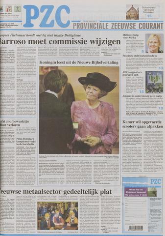 Provinciale Zeeuwse Courant 2004-10-28