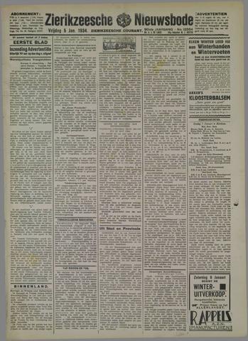 Zierikzeesche Nieuwsbode 1934-01-05