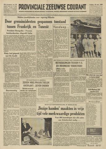 Provinciale Zeeuwse Courant 1958-05-23