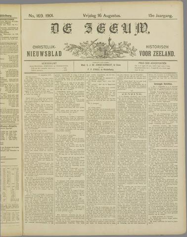 De Zeeuw. Christelijk-historisch nieuwsblad voor Zeeland 1901-08-16
