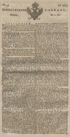 Middelburgsche Courant 1775-05-09