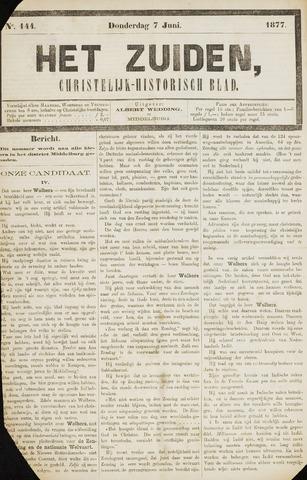 Het Zuiden, Christelijk-historisch blad 1877-06-07