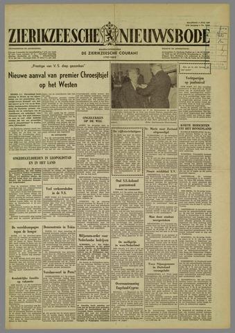 Zierikzeesche Nieuwsbode 1960-07-04