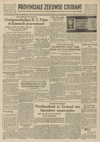 Provinciale Zeeuwse Courant 1953-01-13