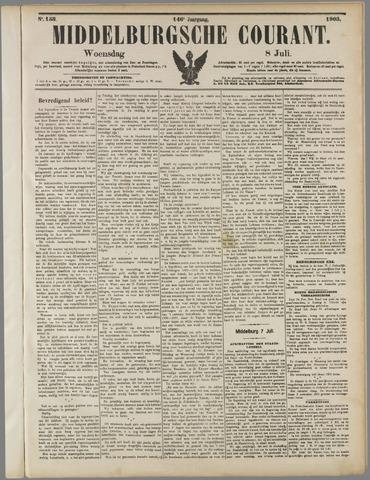 Middelburgsche Courant 1903-07-08