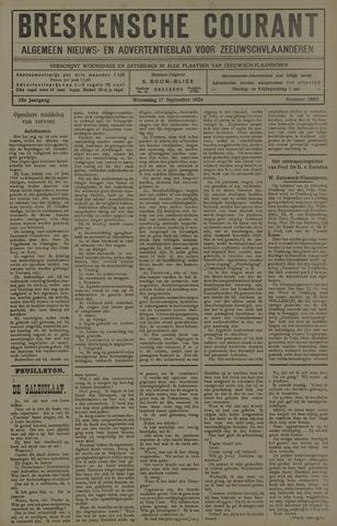 Breskensche Courant 1924-09-17