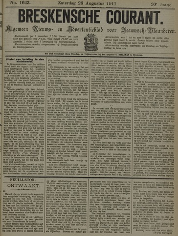 Breskensche Courant 1911-08-26