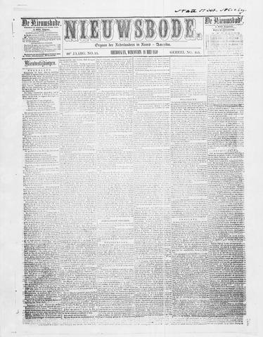 Sheboygan Nieuwsbode 1859-05-18