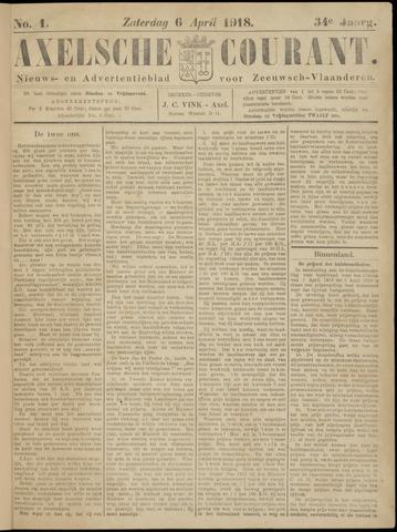 Axelsche Courant 1918-04-06