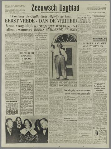 Zeeuwsch Dagblad 1959-09-17