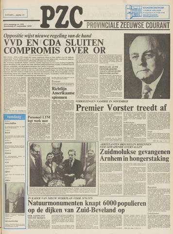 Provinciale Zeeuwse Courant 1978-09-21
