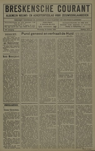 Breskensche Courant 1925-10-28