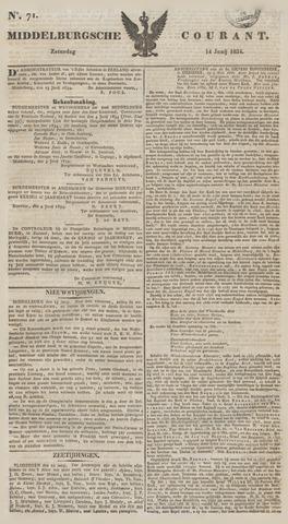 Middelburgsche Courant 1834-06-14