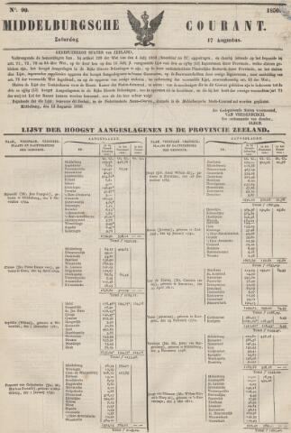 Middelburgsche Courant 1850-08-17