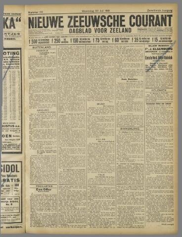 Nieuwe Zeeuwsche Courant 1921-07-20