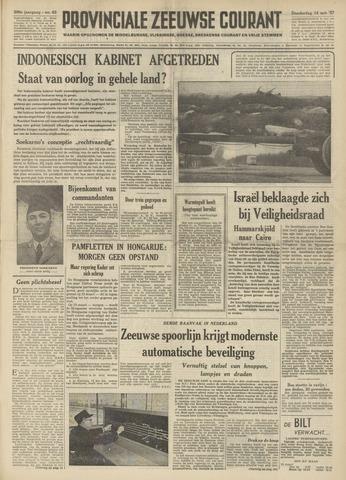 Provinciale Zeeuwse Courant 1957-03-14