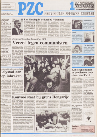 Provinciale Zeeuwse Courant 1990-01-08
