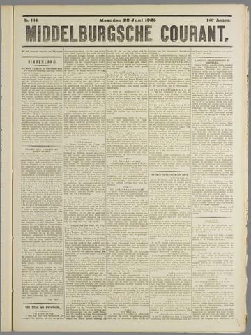 Middelburgsche Courant 1925-06-22