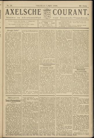 Axelsche Courant 1926-05-07