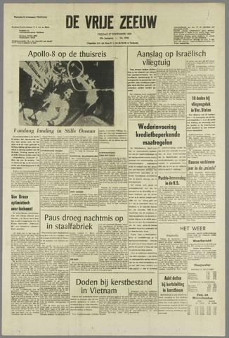 de Vrije Zeeuw 1968-12-27