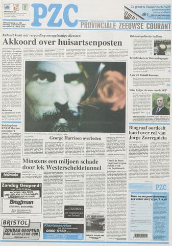 Provinciale Zeeuwse Courant 2001-12-01