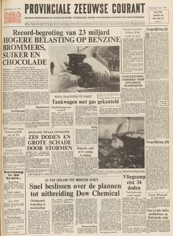 Provinciale Zeeuwse Courant 1967-09-06