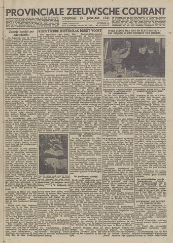 Provinciale Zeeuwse Courant 1943-01-19