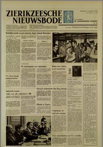 Zierikzeesche Nieuwsbode 1970-09-03